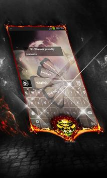 Glittery star Keyboard Cover apk screenshot