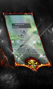 Dark forest Keyboard Cover screenshot 1