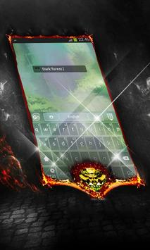 Dark forest Keyboard Cover screenshot 2