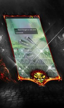 Dark forest Keyboard Cover screenshot 3