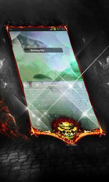 Dreamy lily Keyboard Cover screenshot 2
