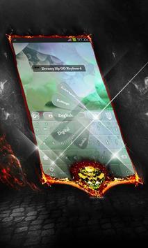 Dreamy lily Keyboard Cover screenshot 9