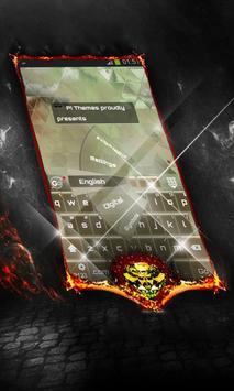 Dust storm Keyboard Cover apk screenshot