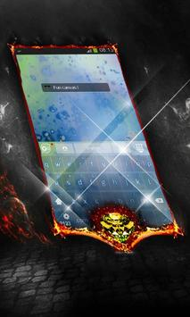 Fun canvas Keyboard Cover apk screenshot