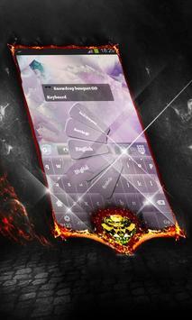 Snowdrop bouquet Keyboard apk screenshot