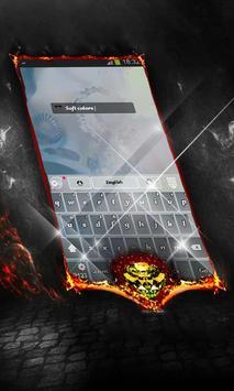 Soft colors Keyboard Cover apk screenshot