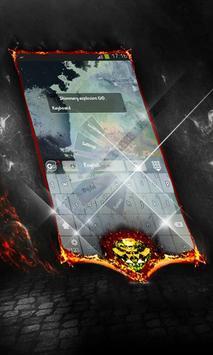 Shimmery explosion Keyboard apk screenshot