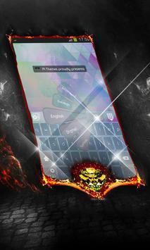 Sky scrapers Keyboard Cover poster