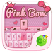 Pink Bow GO Keyboard Theme