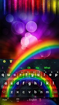 Rainbow Colors Keyboard apk screenshot