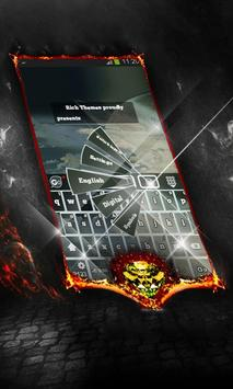 Up in the air Keyboard Layout poster