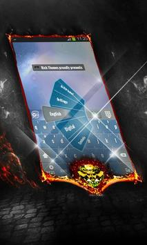 Upcoming storm Keyboard Layout apk screenshot