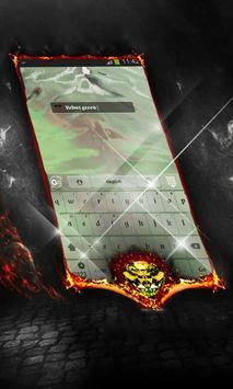 Velvet green Keyboard Layout apk screenshot