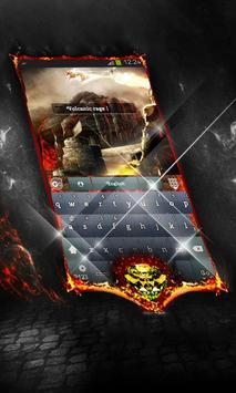 Volcanic rage Keyboard Layout apk screenshot