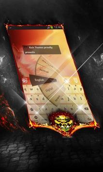 Warm stars Keyboard Layout screenshot 4