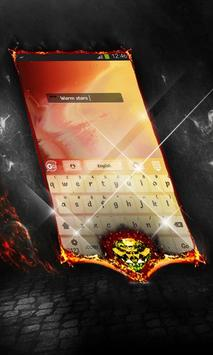 Warm stars Keyboard Layout screenshot 2