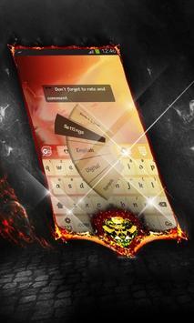 Warm stars Keyboard Layout screenshot 3