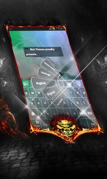 Water painting Keyboard Layout apk screenshot