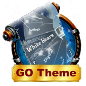 White bears Keyboard Layout icon