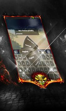 Our hot star Keyboard Layout poster