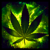 Weed Rasta Keyboard icon