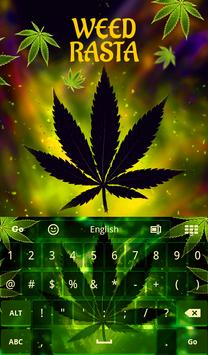 Weed Rasta Keyboard apk screenshot