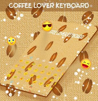 Coffee Lover Keyboard apk screenshot