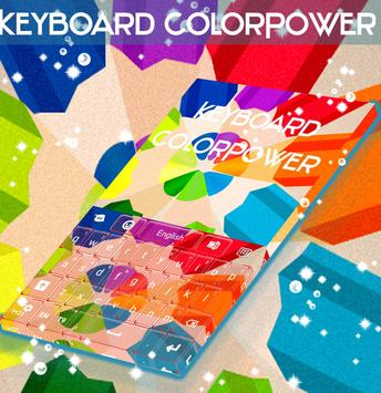 ColorPower Keyboard poster