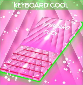 Cool Keyboard Pink poster