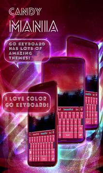 Candy Mania GO Keyboard screenshot 4