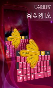 Candy Mania GO Keyboard poster
