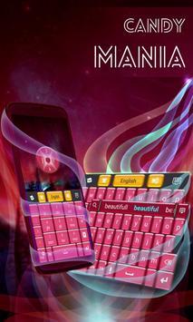 Candy Mania GO Keyboard screenshot 2