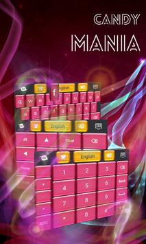 Candy Mania GO Keyboard screenshot 3