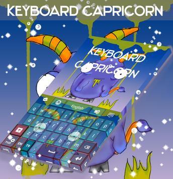 Capricorn Keyboard poster