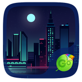City Scape GO Keyboard Theme icon