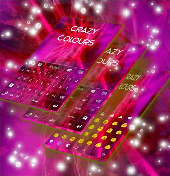 Crazy Colours Keyboard poster