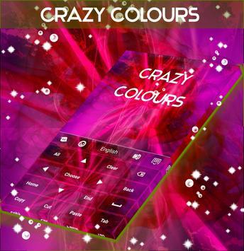 Crazy Colours Keyboard apk screenshot