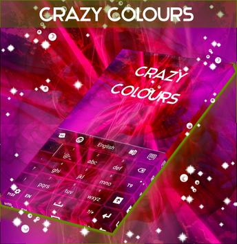 Crazy Colours Keyboard apk screenshot