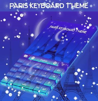 Paris Keyboard Theme screenshot 4