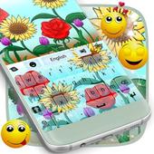 Keyboard Theme Flowers icon