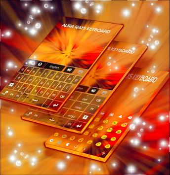 Aura Rays Keyboard apk screenshot