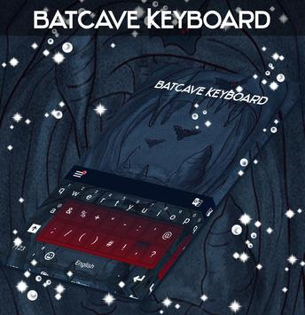 Batcave Keyboard poster