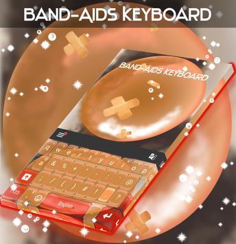 Band-Aids Keyboard poster