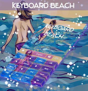 Beach Keyboard apk screenshot