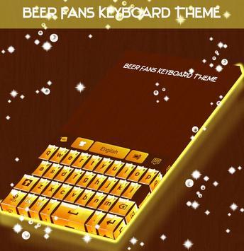 Beer Fans Keyboard Theme apk screenshot
