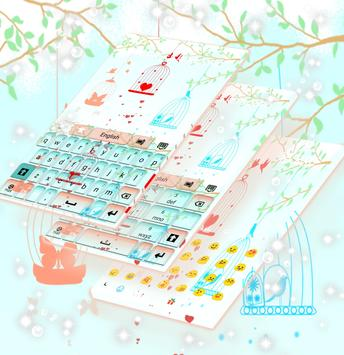 Bird Cages Keyboard apk screenshot
