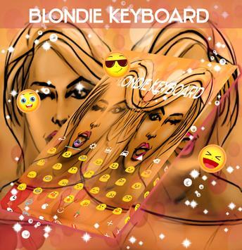 Blondie Keyboard apk screenshot
