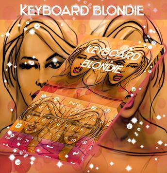 Blondie Keyboard poster