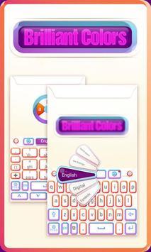 Brilliant GO Keyboard Theme poster