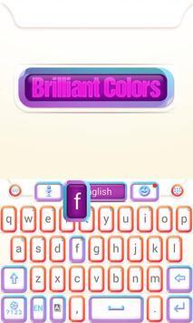 Brilliant GO Keyboard Theme apk screenshot